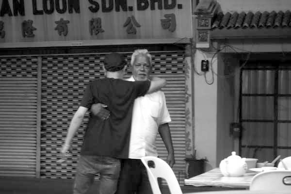 Embrace. Melaka, Malaysia 2017.