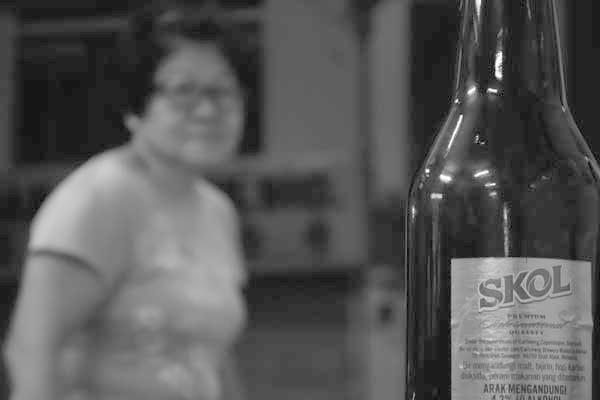 Bottle of Beer. Melaka, Malaysia 2017.