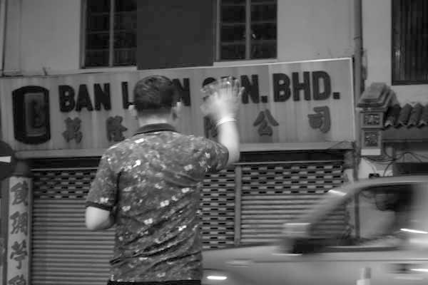 Goodnight. Melaka, Malaysia 2017.