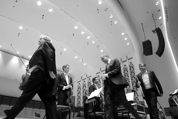 Liverpool Philharmonic Hall. Concert May 2017.