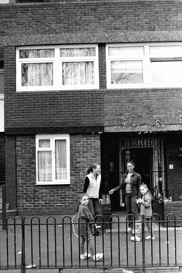 Kingward House. Hanbury Street, East London 1998.