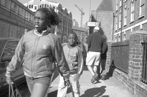 Bell Lane. Spitalfields 2003.