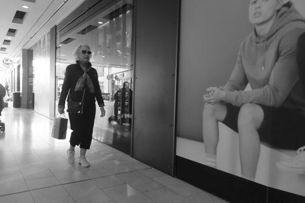Shopping. Blackpool 2017.