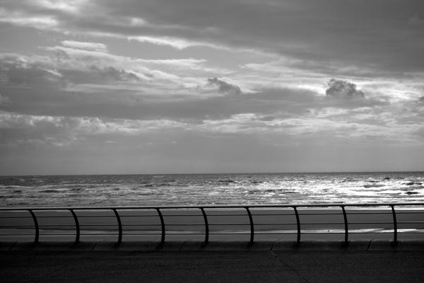 The Sea. Blackpool 2017.