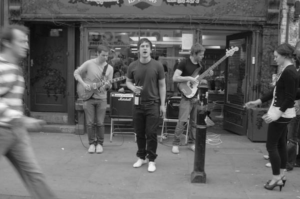 Musicians. Brick Lane 2007.