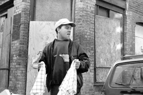 Brick Lane. Spitalfields 1985.