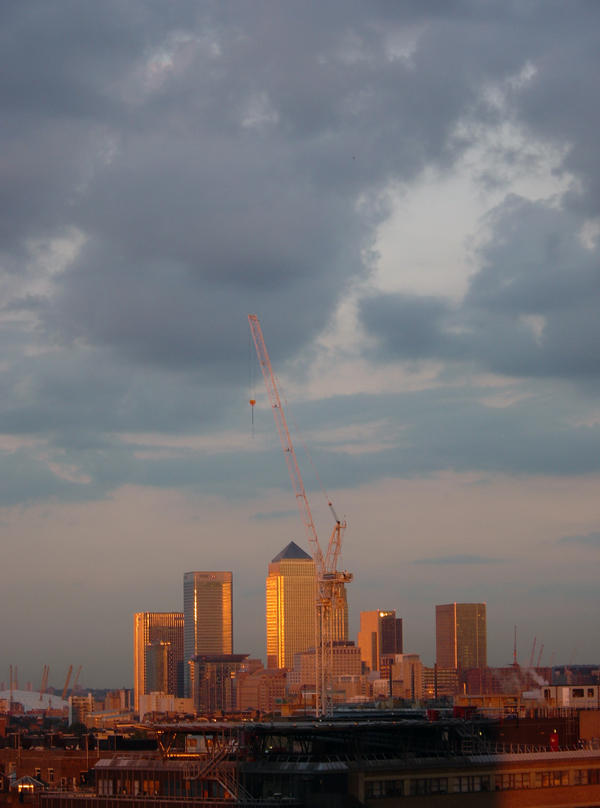 Canary Wharf. East London 2004.