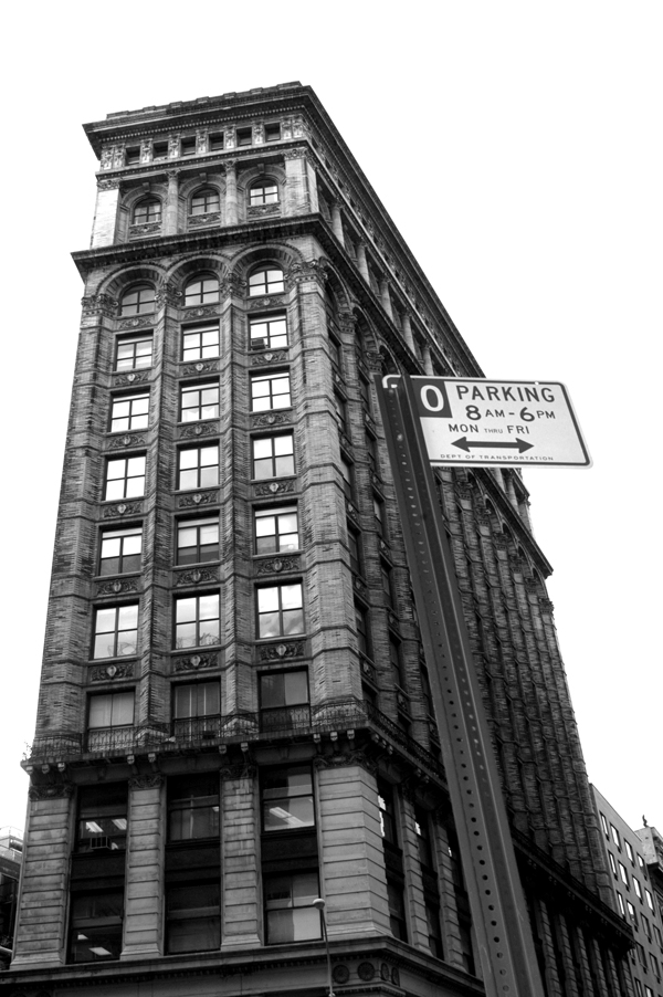 Flat Iron building. New York 2005.