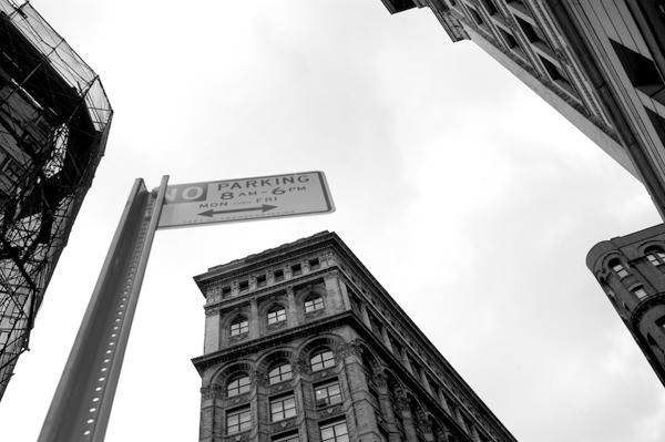 Flat Iron building. New York 2005.