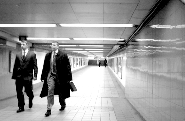 Subway. New York 2005.