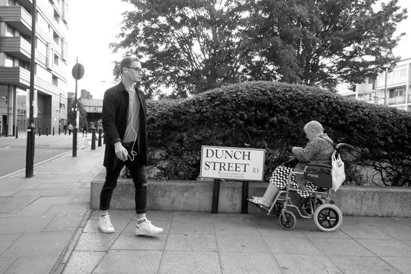 Dunch Street. Watney Market. East London 2017.