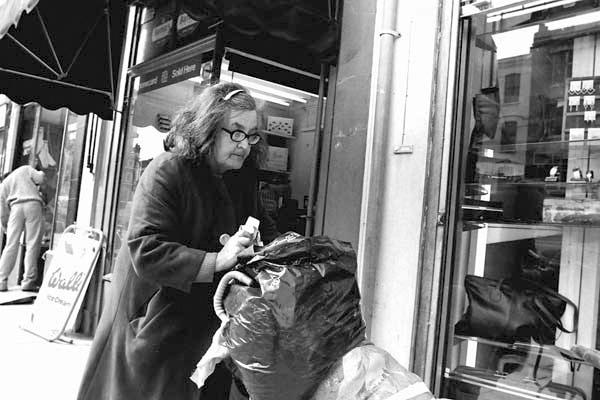 Whitechapel market 1984.