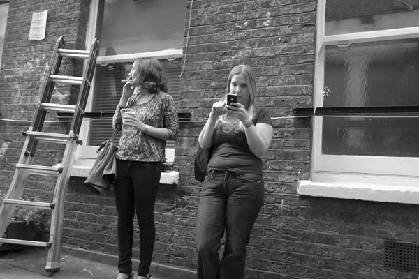 Drays Walk. Off Brick Lane 2012.