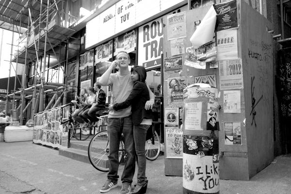 Drays Walk. Spitalfields 2012.