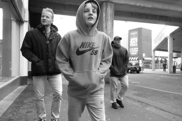Boy in a hood. Blackpool 2017.