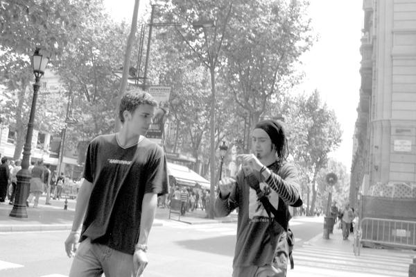 Conversation. Barcelona 2015.