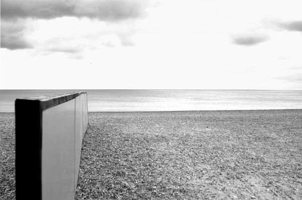 The beach. Hastings 2006.