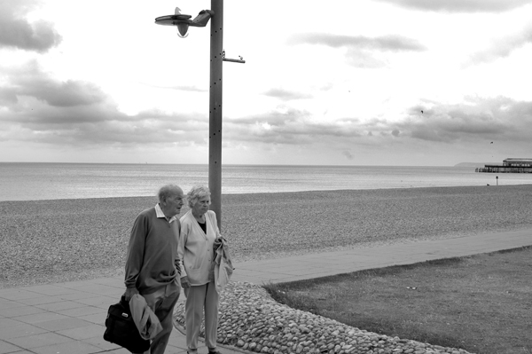 By the sea. Hastings 2006.