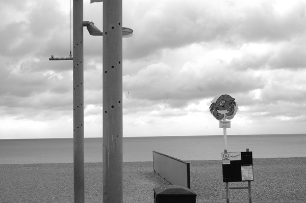 The sea & clouds. Hastings 2006.