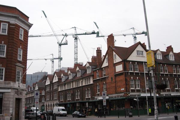 Spitalfields market. East London 2002.