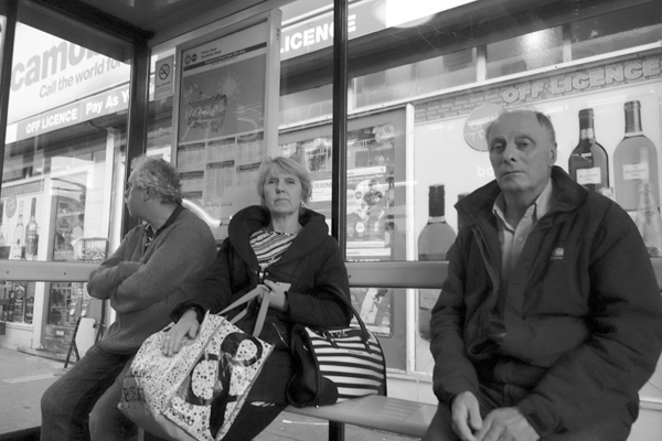 Bus stop. Picton Road, Liverpool 2017.