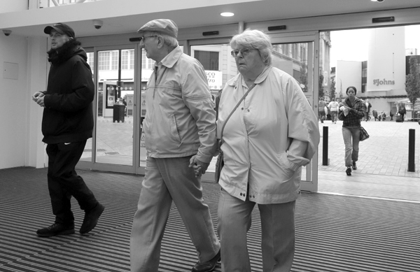 Hand in hand. Liverpool September 2017.