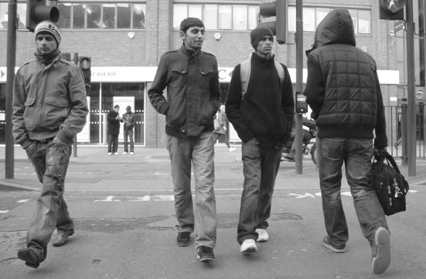 Whitechapel. East London March 2010.