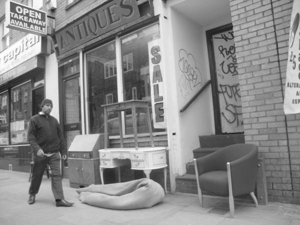 Antique shop. Brick Lane 2010.