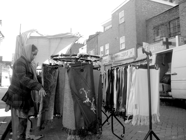 The market. Roman Road. East London 2010.