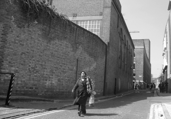 Quaker Street. Spitalfields East London 2010.