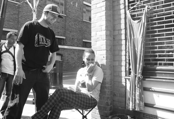Smiles at the Sunday street market. Brick Lane 2010.