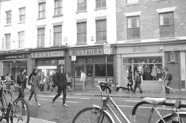 Hanbury Street. Spitalfields, East London 2010.