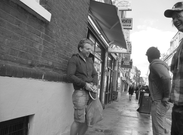 Brick Lane. Spitalfields, East London 2010.