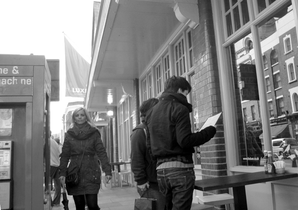 Commercial Street. Spitalfields, East London 2010.