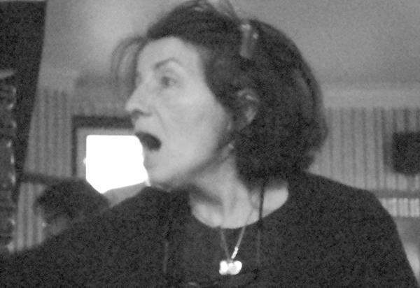Sandra Esqulant landlady of the Golden Heart pub. Spitalfields 2010.