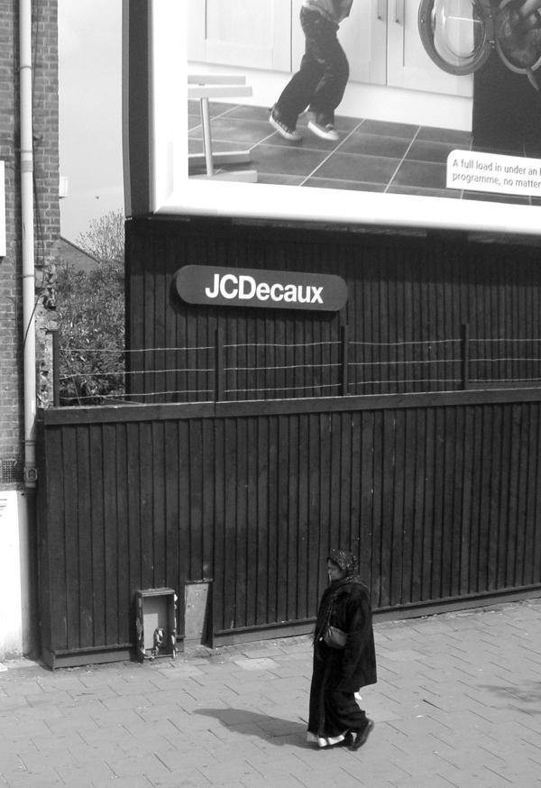 Mile End Road. East London 2010.