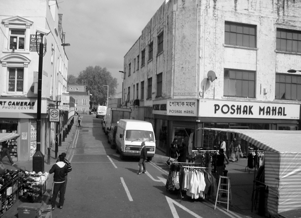 Market. Whitechapel Road. East London 2010.
