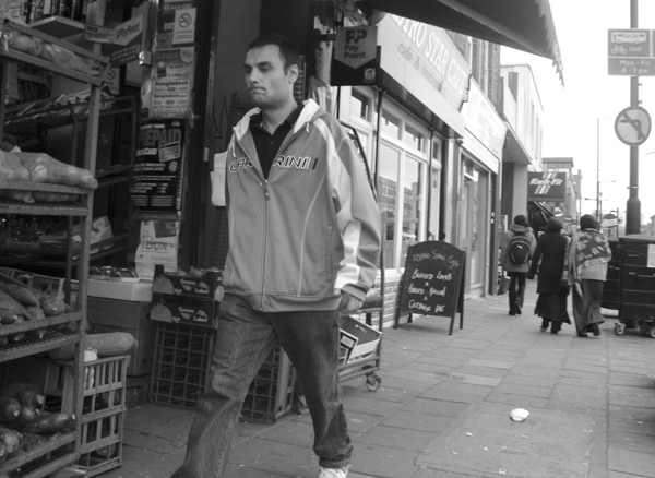 Bethnal Green Road. East London 2010.