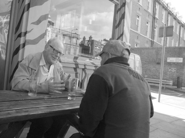 The Urban bar Whitechapel. East London 2010.