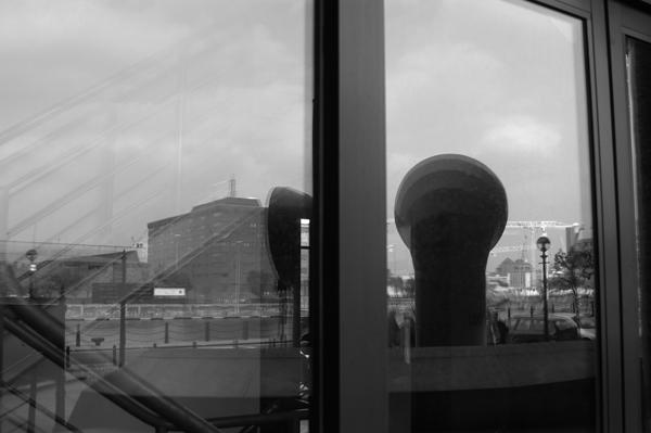 Reflections. Albert Dock. Liverpool 2005.