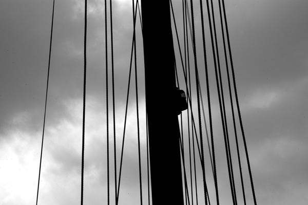 Mast. Albert Dock. Liverpool 2005.