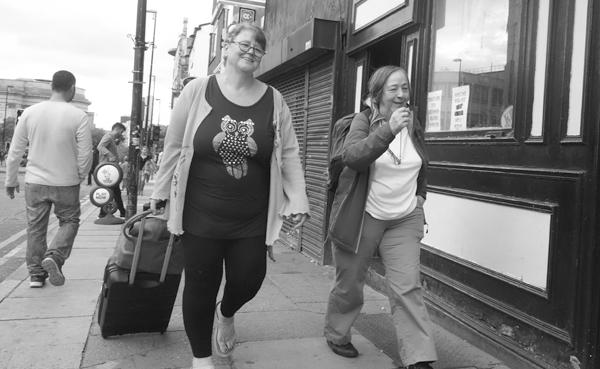 Smiles. London Road. Liverpool September 2017.