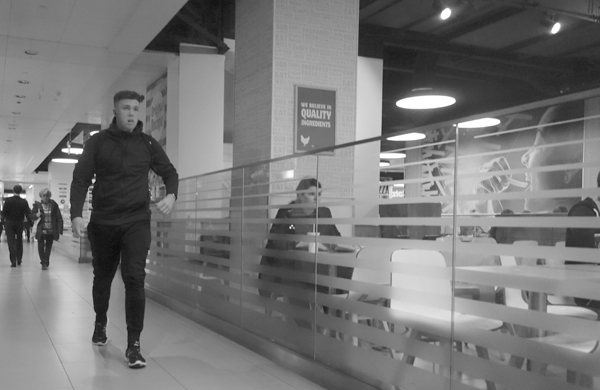 Shopping Mall. Liverpool September 2017.