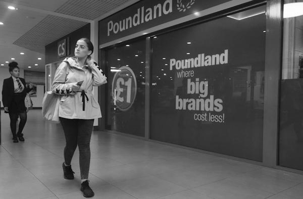 'Poundland'. Liverpool September 2017.