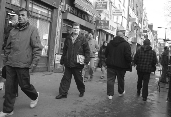 Whitechapel Road. East London 2010.