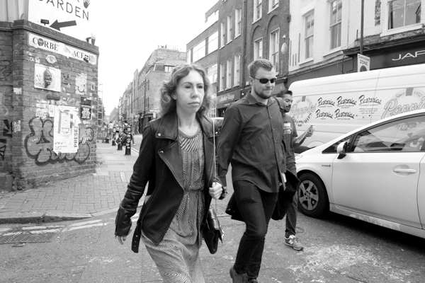 Hanbury Street. East London 2017.