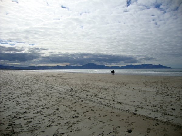Bannah beach in Kerry. March 2010.