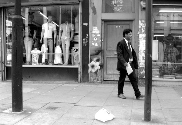 Commercial Street. East London, May 2010.