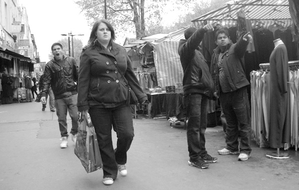 Whitechapel market. East London, May 2010.