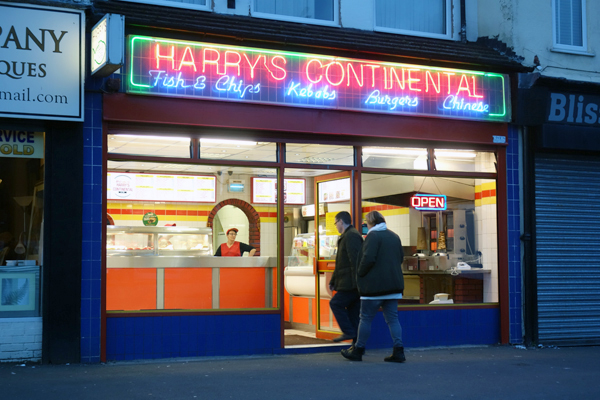 Harry's Continental, Wavertree. November, Liverpool 2017.